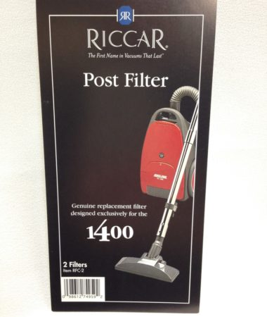 Riccar 1400 Post Filter
